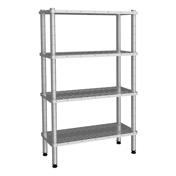 Smooth Shelves With 4 Floor (1600 mm)
