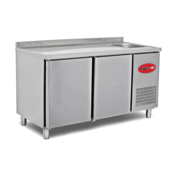 Refrigerated Counters With Sink