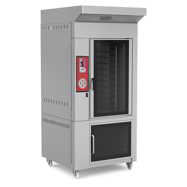 Convection Rotary Ovens-Gas