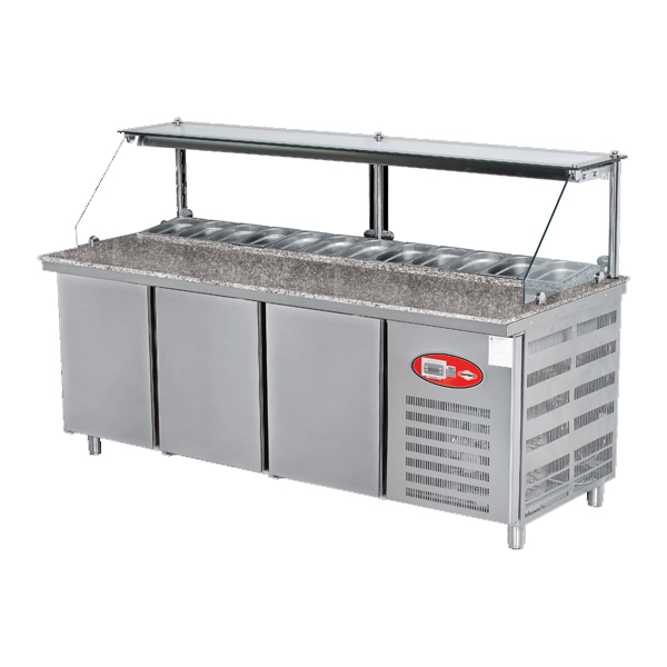 Refrigerated Pizza Counter