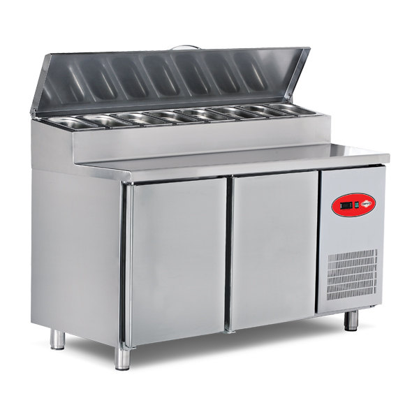 Refrigerated Pizza and Salad Preparation Counters