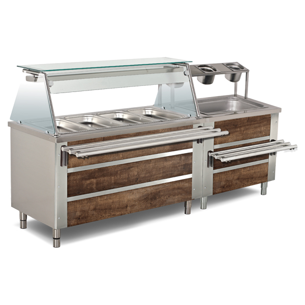 Bain marie and Neutral Service Units