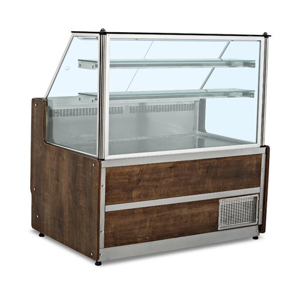 Pluton Meat and Apettizer Showcase (Flat Glass)